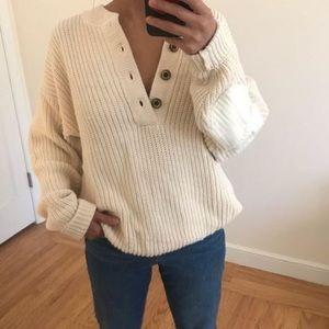 Eddie Bauer Henley sweater